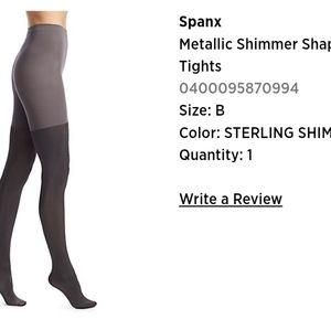 Spanx tights, sz B